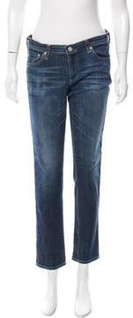 Adriano Goldschmied Stilt Mid-Rise Jeans
