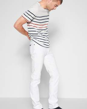 7 For All Mankind Luxe Performance Slimmy in White