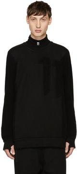 11 By Boris Bidjan Saberi Black Logo Sweatshirt