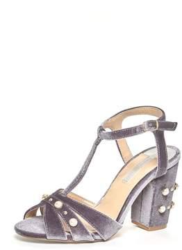 Dorothy Perkins Grey 'Bonnie' Heeled Sandal