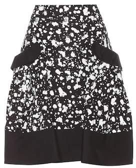 Carolina Herrera Printed cotton skirt