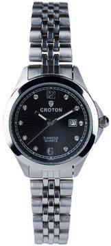 Croton N/A Mens Black Bracelet Watch-Cn307576bkmp