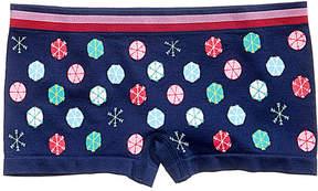 Maidenform Snow-Print Minishort Underwear, Little Girls (4-6X) & Big Girls (7-16)