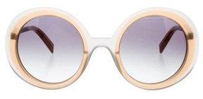 Jil Sander Oversize Gradient Sunglasses w/ Tags
