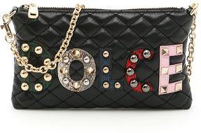 Dolce & Gabbana Quilted Nappa Bag - NERO|NERO - STYLE