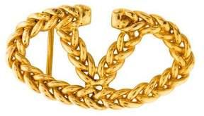 Valentino Chain-Link Buckle Belt