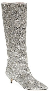 Kate Spade Women's Olina Glitter Knee High Boot