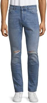 DL1961 Premium Denim Men's Distressed Relaxed-Fit Jeans