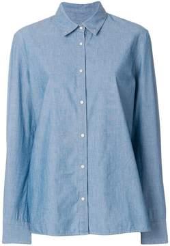 Pinko fringed denim shirt