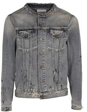 Ih Nom Uh Nit Men's Light Blue Cotton Outerwear Jacket.