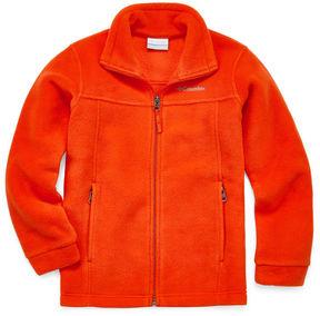 Columbia Orange Fleece- Boys Big Kid