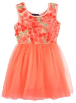 Andy & Evan Girls Tulle Florette Dress