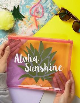 Sunnylife Pineapple Bikini Pouch