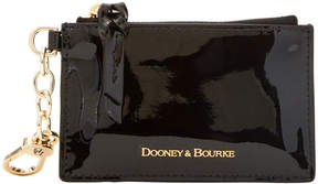 Dooney & Bourke Patent Leather Zip Top Card Case