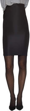 Emilio Cavallini Women's Jacquard Fishnet Tights