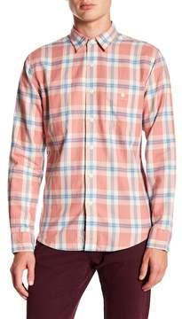 Faherty BRAND Seaview Plaid Long Sleeve Trim Fit Shirt