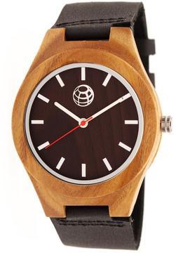 Earth Aztec Collection ETHEW4102 Wood Analog Watch