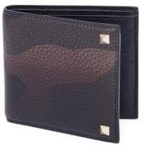 Valentino Textured Leather Wallet