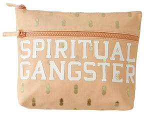 SPIRITUAL GANGSTER Metallic Pineapple Dry Bag