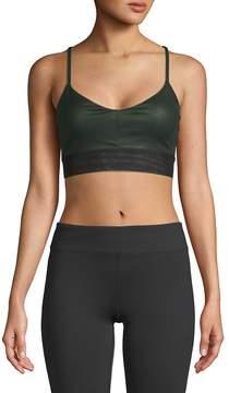 Electric Yoga Women's Strappy V-Neck Sports Bra