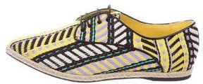 Just Cavalli Woven Espadrille Oxfords w/ Tags