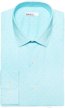 Bar III Men's Slim-Fit Printed Cotton Dress Shirt, Created for Macy's
