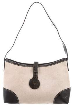 Longchamp Canvas Shoulder Bag