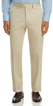 Bloomingdale's The Men's Store at Classic Fit Stretch Cotton Dress Pants - 100% Exclusive