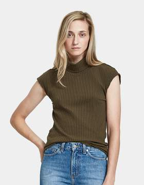 Which We Want Ribbed Turtleneck Top