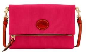 Dooney & Bourke Nylon Foldover Zip Crossbody Shoulder Bag