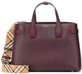 Burberry Banner Medium leather tote