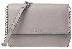 MICHAEL Michael Kors Logo Large Leather Crossbody Bag