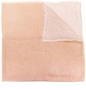 Faliero Sarti glittered gradient scarf