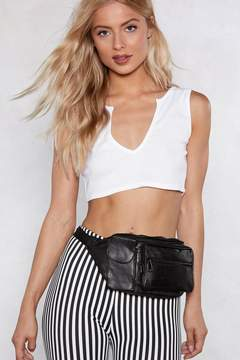 Nasty Gal Bag It Leather Fanny Pack
