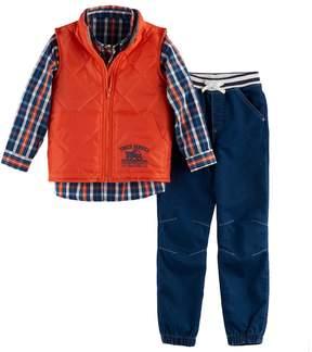 Nannette Boys 4-7 3-pc. Vest