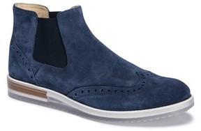 Bugatchi Men's Brescia Mid Chelsea Wingtip Sneaker Boot