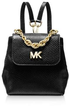 MICHAEL Michael Kors Mott Mini Twist Chain Messenger Backpack