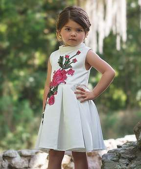 Bardot White Dress - Toddler