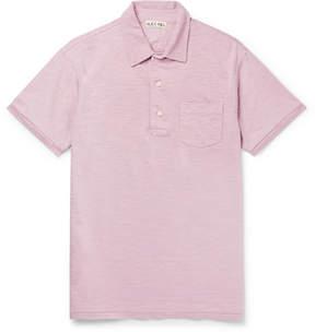 Alex Mill Slub Cotton-Jersey Polo Shirt