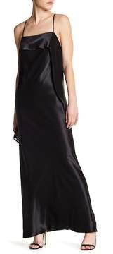 ABS by Allen Schwartz Draped Satin Luxe Gown