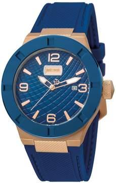 Just Cavalli Blue Dial Men's Sports Watch