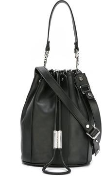 Diesel Black Gold stud detail satchel