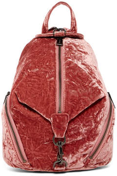 Rebecca Minkoff Medium Velvet Juilan Backpack - SOFT PINK - STYLE