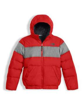 The North Face Boys' Moondoggy 2.0 Down Quilted Jacket, Red, Size XXS-XL
