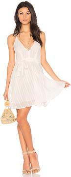 J.o.a. Low Neck Strappy Dress