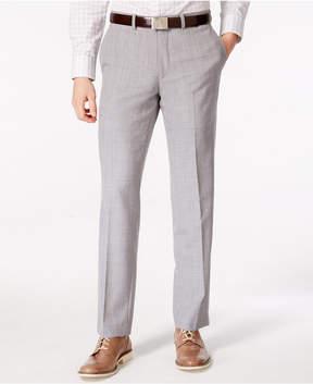 Bar III Men's Light Gray Slim Fit Pants, Created for Macy's