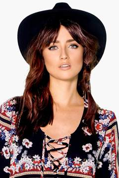 boohoo Heidi Ribbon Trim Fedora Hat