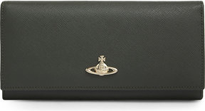 Vivienne Westwood Saffiano leather wallet