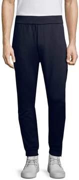 Prada Linea Rossa Men's Solid Cotton Trousers
