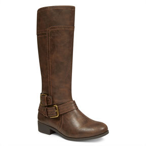 Nine West Sassy Tran Riding Boots (Girls)